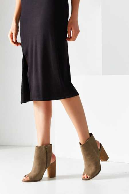 Millie Peep Toe Ankle Boot