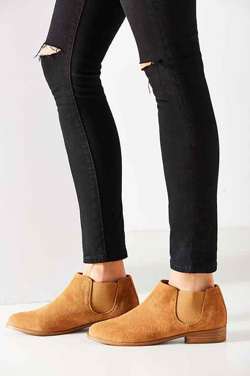 Marcelle Chelsea Boot,TAN,6