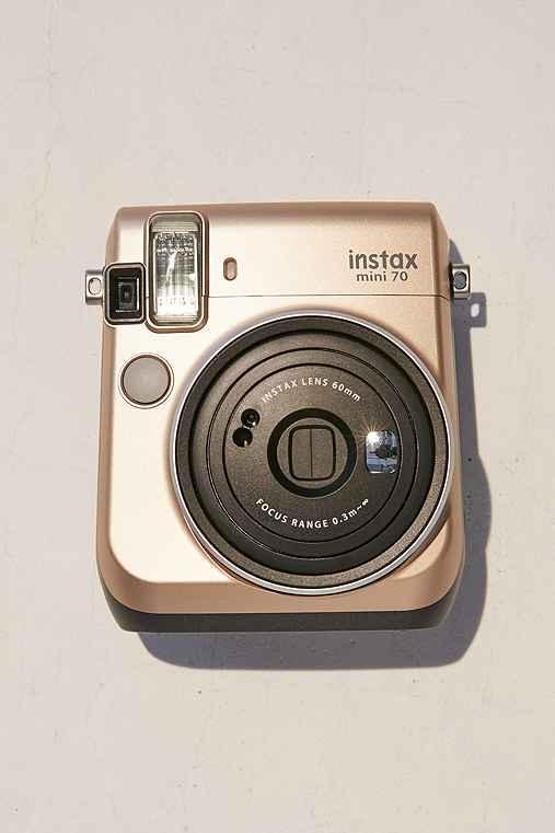 Fujifilm Instax Mini 70 Camera,GOLD,ONE SIZE