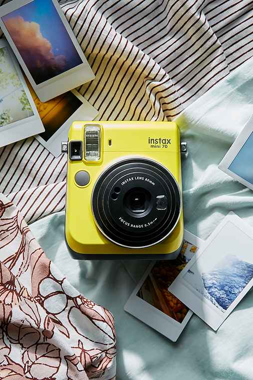 Fujifilm Instax Mini 70 Camera,YELLOW,ONE SIZE