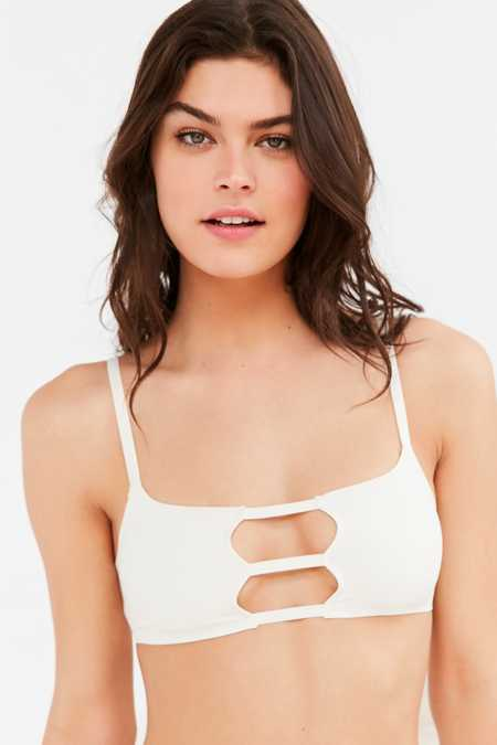 Out From Under Hailey Fusion Caged Bralette
