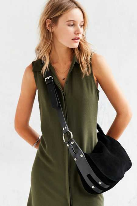 Silence + Noise Aimee Harness Messenger Bag