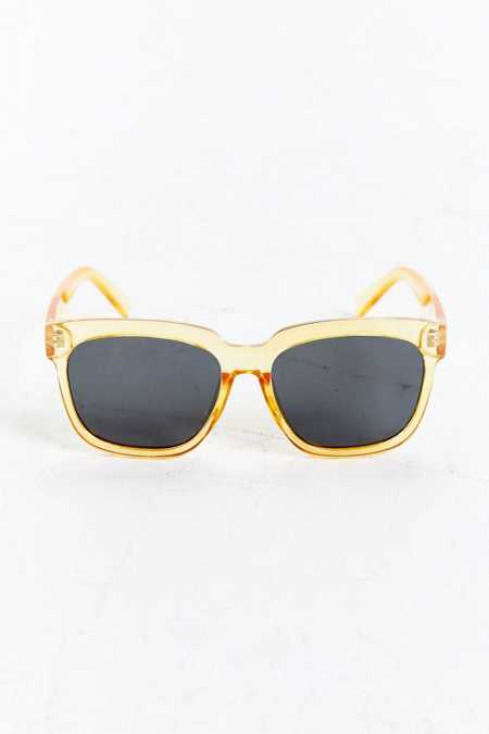 Flat Lens Square Sunglasses