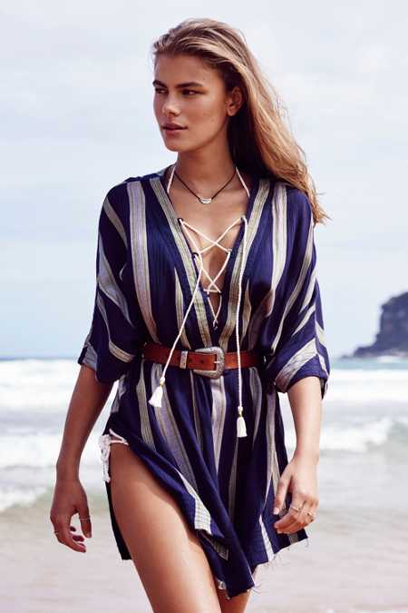 Out From Under Lola Beach Kaftan Cover-Up