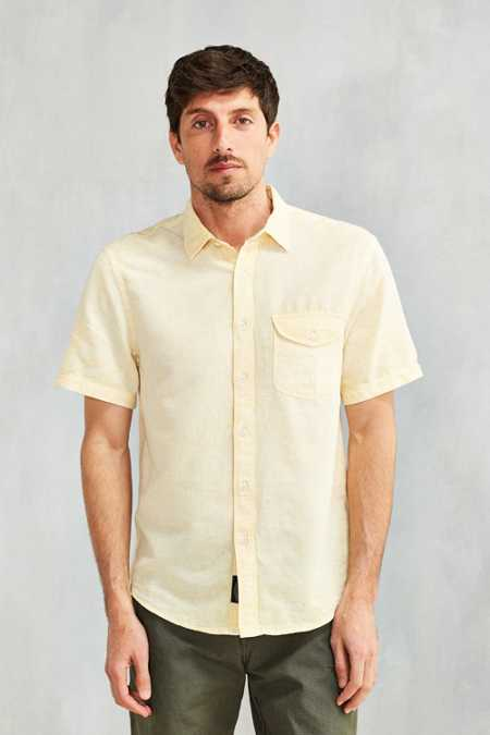 CPO Stonewash Short-Sleeve Button-Down Shirt