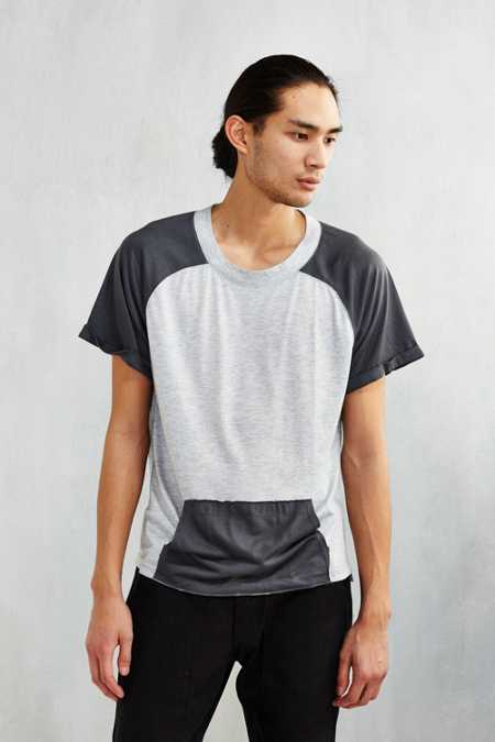 Wolf & Man Kangaroo Pocket Tee