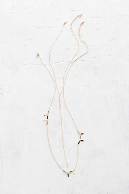 Golden Age Lariat Necklace Set