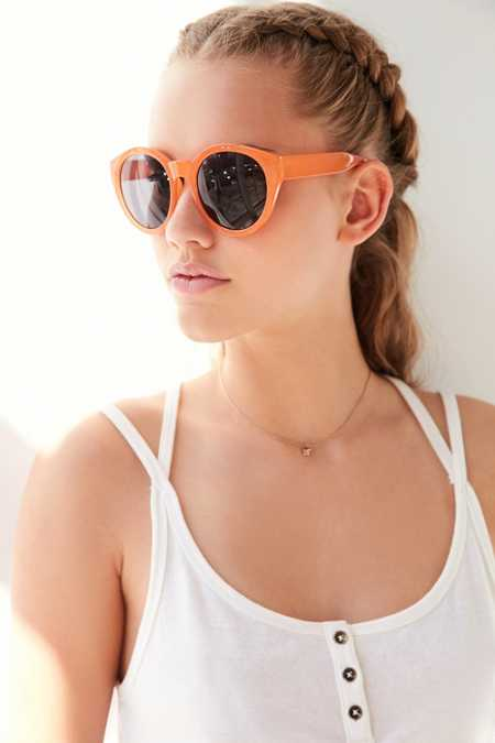 Oversized Cat-Round Sunglasses