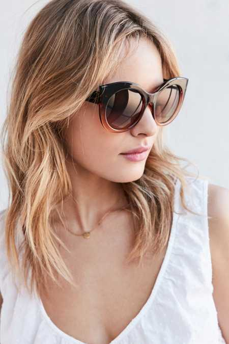 Madison Cat-Round Sunglasses