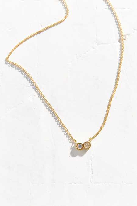 Sterling Silver + 18k Gold Delicate Necklace