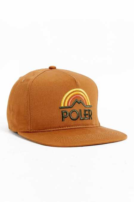 Poler Mountain Sunset Snapback Hat