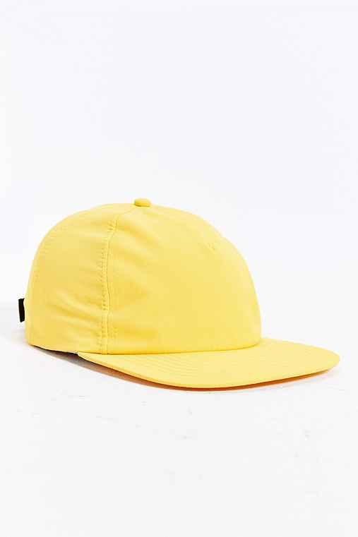 Rosin Nylon Baseball Hat,YELLOW,ONE SIZE