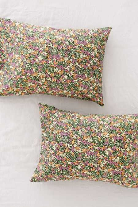 Magical Thinking Willow Floral Pillowcase Set