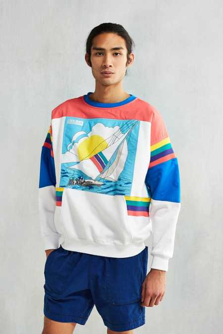 adidas Sailing Graphic Crew Neck Sweatshirt