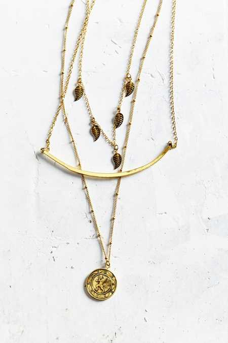 Mystic Coin Layering Necklace