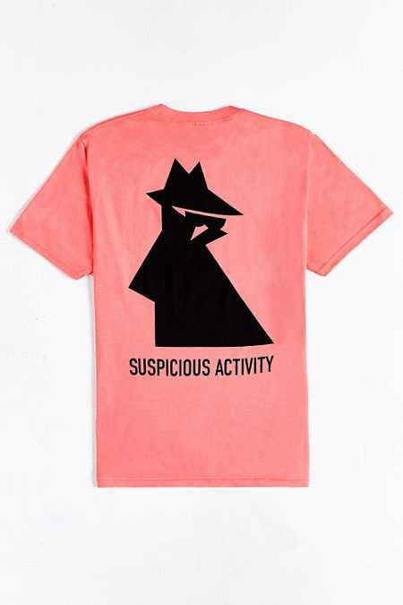 Stussy Suspicious Activity Tee
