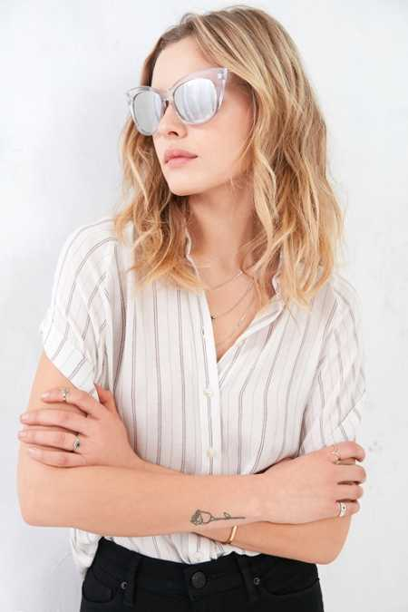 Runaway Cat-Eye Sunglasses