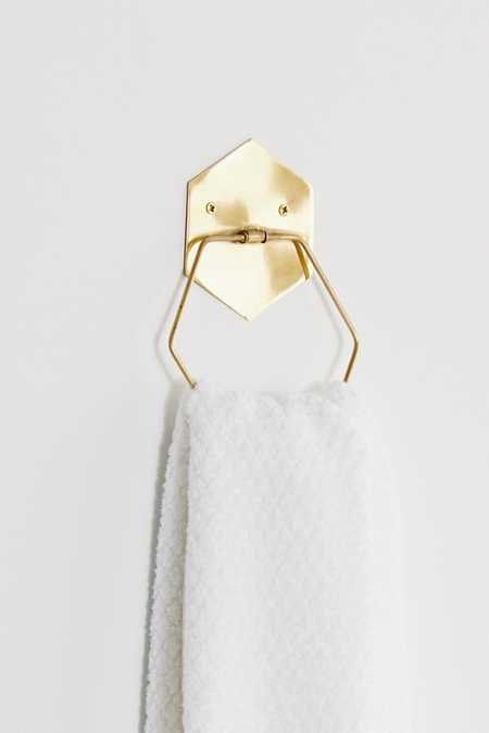 Hexagon Towel Ring