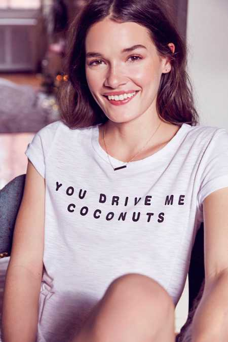 COMUNE Driving Me Coconuts Tee