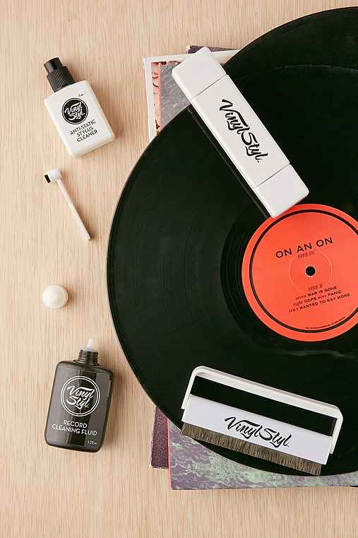 Ultimate Vinyl Record Care Kit,ASSORTED,ONE SIZE