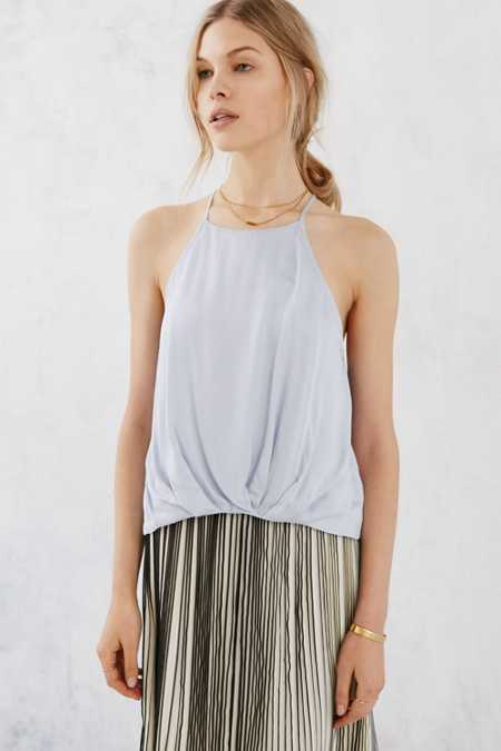 Silence + Noise Finley Plunge-Back Cami