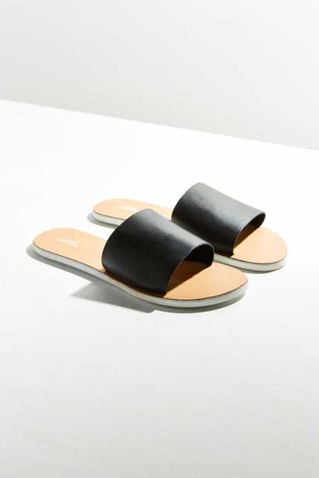 Charlie Leather Slide