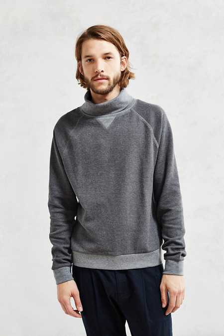 CPO Athletic Raglan Turtleneck Sweatshirt
