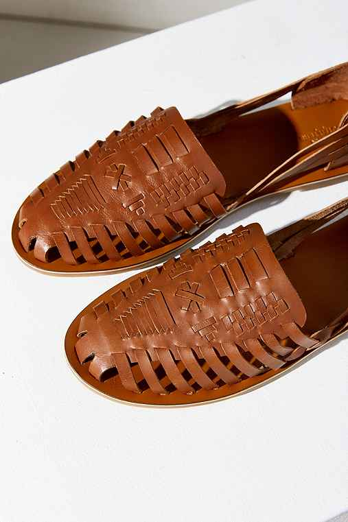 Huarache Leather Flat - Urban Outfitters