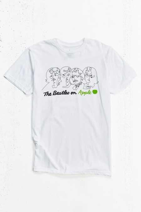 The Beatles On Apple Tee