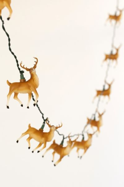 Reindeer String Lights - Urban Outfitters