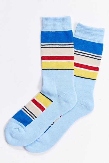 Pendleton National Park Stripe Crew Sock