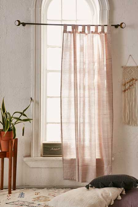 Space Dyed Striped Curtain