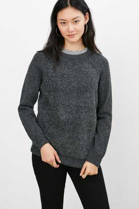 Mouchette Jessica Mixed Stitch Pullover Sweater