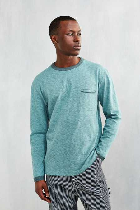 CPO Delta Plated Slub Long-Sleeve Tee