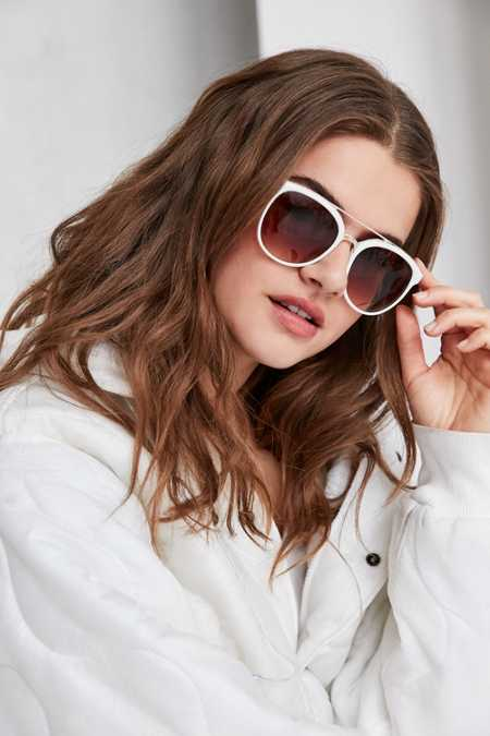 Avery Brow Bar Frame Sunglasses