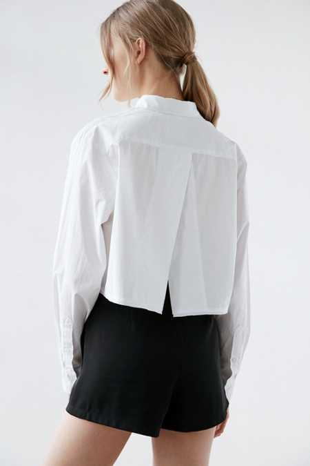 Cheap Monday Disarm Split-Back Shirt