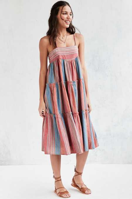d.RA Noelle Striped Midi Dress