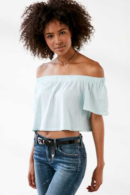 Kimchi Blue Jena Off-The-Shoulder Top