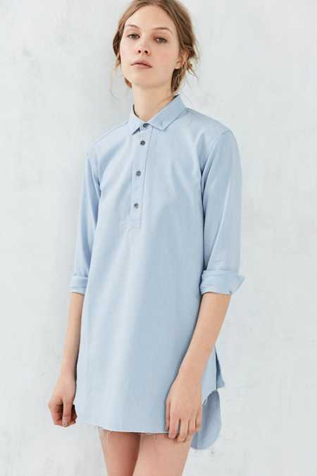 Publish Maggie Button-Down Shirt Dress