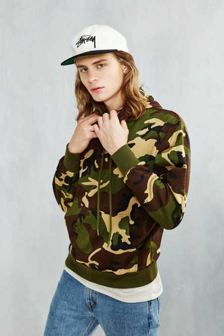 Rothco Camo Hooded Sweatshirt