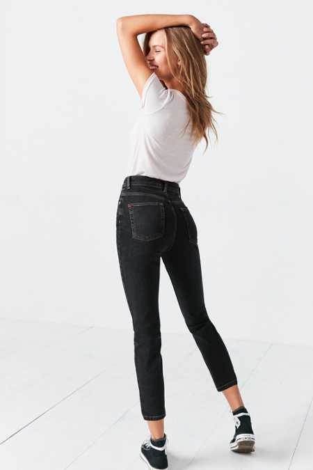 BDG Girlfriend High-Rise Jean - Black