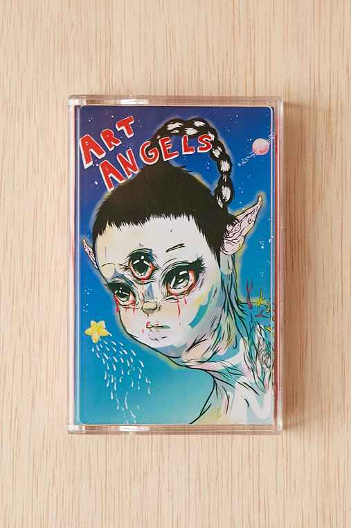Grimes - Art Angels Cassette Tape,ASSORTED,ONE SIZE