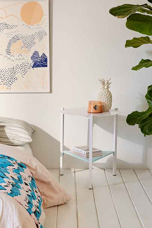 Ollie Side Table,WHITE,ONE SIZE