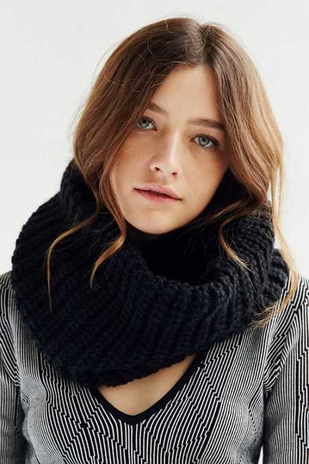 Cozy Lined Funnel Scarf