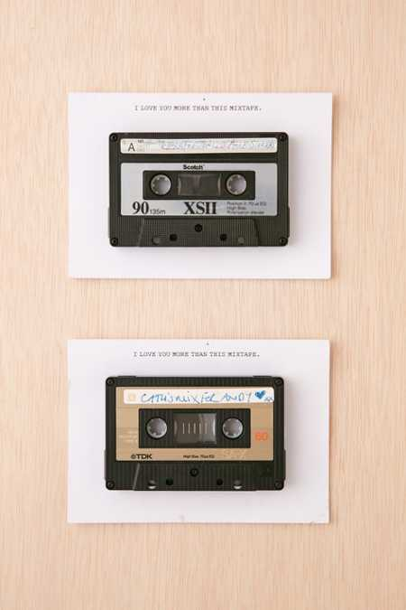 Fracas Studios Vintage Mixtape + Greeting Card