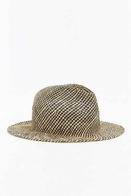 Sublime Straw Fedora Hat