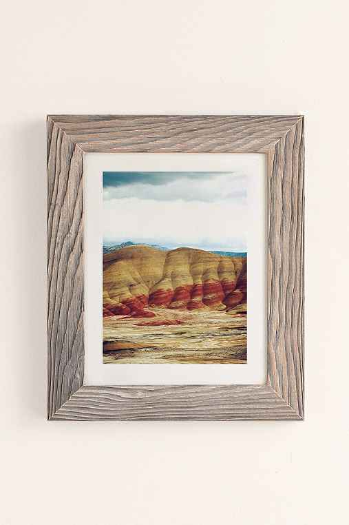 Kevin Russ Painted Hills Art Print,BUFF BARNWOOD,40X60