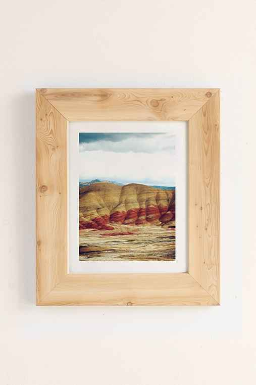 Kevin Russ Painted Hills Art Print,PINE,18X24