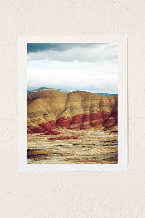 Kevin Russ Painted Hills Art Print,NO FRAME,8X10