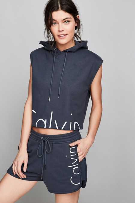 Calvin Klein For UO Capsule Drawstring Sweat Short